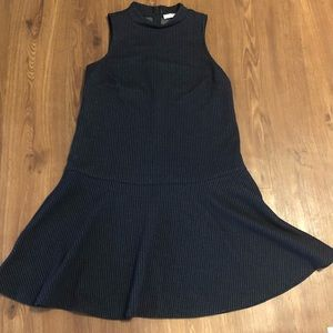 LOFT Navy Dress Size Small